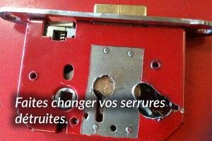 Appelez nous pour effectuer un remplacement de serrure à Nice Gambetta, 24H7J