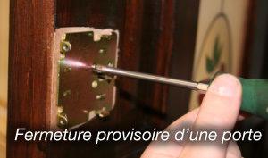 Contactez nous, pour la fermeture provisoire de porte à Nice Gambetta, 24h/24 et 7j/7