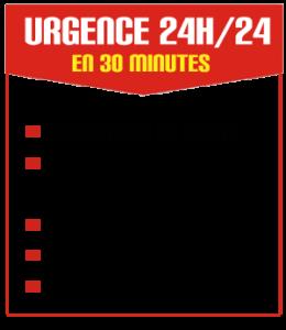 SOS Serrurier à Nice Gambetta, 24h/24 & 7j/7, intervention en30 minutes